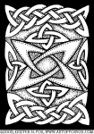 Celtic Knotwork Quasar Illustration