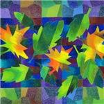 Leaf Mosaic Linens