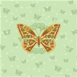 Celtic Butterfly Linens