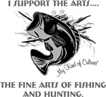 The art of hunting and fishing.