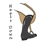 heels down illustrated