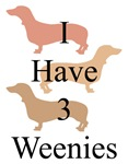 I Have 3 Weenies 