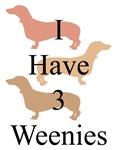 I Have 3 Weenies
