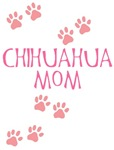 Pink Chihuahua Mom