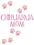 Pink Chihuahua Mom
