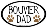 Bouvier Dad Oval