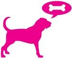 Bloodhound Treat Pink