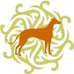 Lime & Rust Greyhound