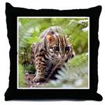 Bengal Cats Throw Pillows