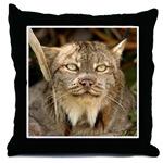 Canadian Lynx Throw Pillows
