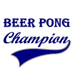 Beer Pong Champion T-shirts