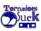 Tornadoes Suck Blue