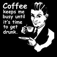 Coffee Keeps Me Busy