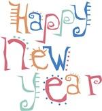 Happy New Year Latino Font