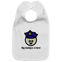 My Daddy's a Hero Policeman Law Enforcement