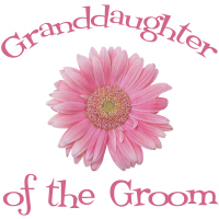 Groom's Granddaughter Daisy Pink Wedding Apparel