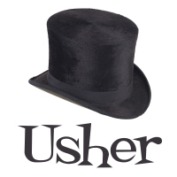 Top Hat Wedding Party Usher T-Shirts