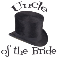 Top Hat Uncle of the Bride T-shirts