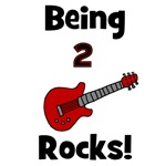 Being 2 Rocks! Guitar