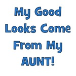 Good Looks From Aunt - Blue