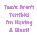 Two's Aren't Terrible... (purple)