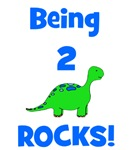 Being 2 Rocks! Dinosaur