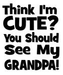 Think I'm Cute? Grandpa Black