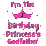 1st Birthday Princess's Godfather!