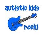 Autistic Kids Rock! Blue Guitar