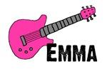 Guitar - Emma - Pink