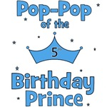 Pop-pop of the 5th Birthday Prince!