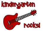 Kindergarten Rocks! (Guitar) MORE COLORS AVAILABLE