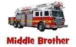 Middle Brother Fire Truck