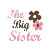 big sister pink brown