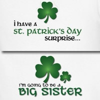 st. patrick's day big sister