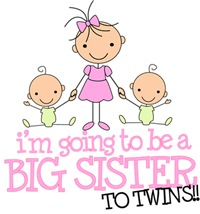 Big Sister To Twins