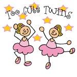 Too Cute Twin Ballerinas