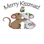 Xmas Kissing Mice