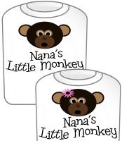 Nana's Little Monkey GIRL