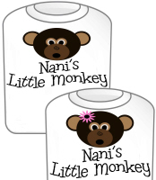 Nani's Little Monkey GIRL