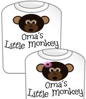 Oma's Little Monkey GIRL