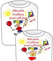 Abuela T-Shirt Fun Girl & Fun Boy
