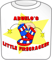 Abuelo's Firecracker July 4th TShirt