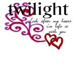 Twilight T-Shirt Heart