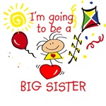 To Be a Big Sister T-shirt