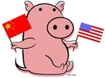 CHINA AND USA PIG