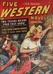 pulp western art on gifts and t-shirts.