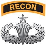 Recon Tab over Senior Airborne Wings