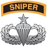 Sniper Tab over Senior Airborne Wings