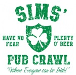 Sims' Irish Pub Crawl